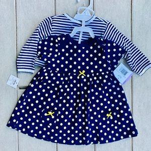 Adorable 2 piece dress/cardigan set NEW